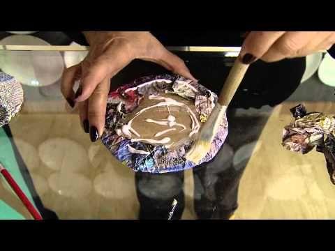Vida com Arte | Cachepô com Canudo de Revista por Beth Pires - 07 de Agosto de 2014 - YouTube