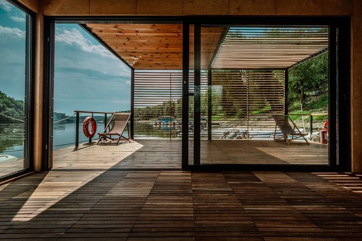 DOC - Temporary Floating House / Lime Studio | ArchDaily