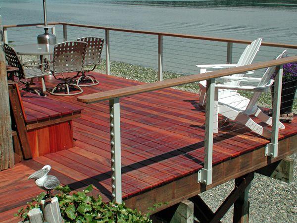 Images about deck rails on pinterest cable