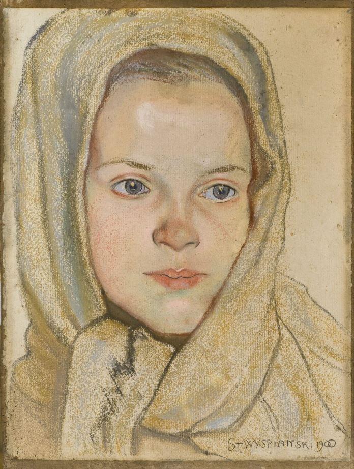 Stanisław-Wyspiański-Główka-dziewczynki.jpg (696×922)