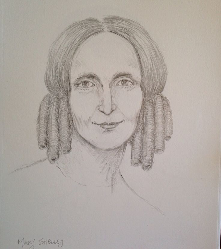 Mary Shelley - author of Frankenstein