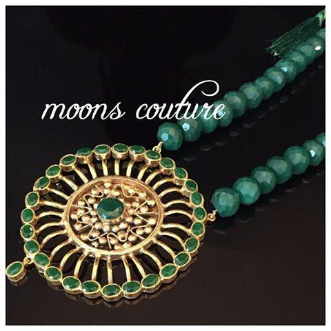 Beautiful emerald pendant