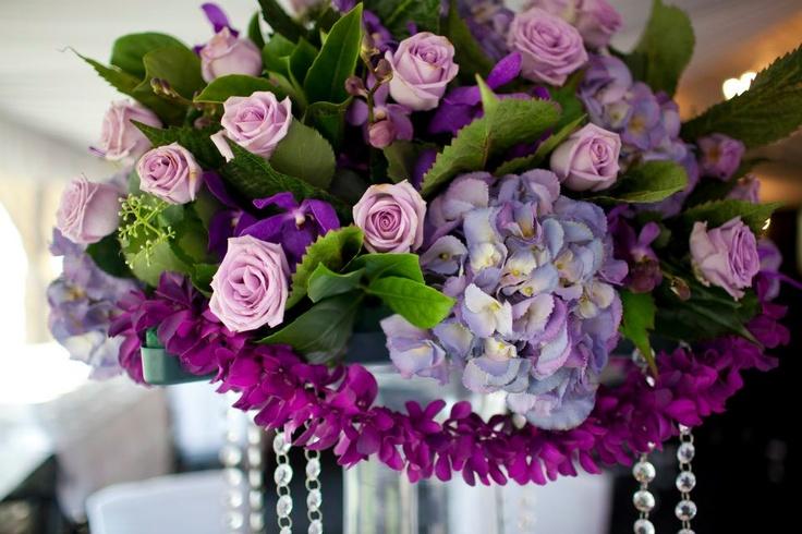Purple florals www.touchedbyangels.com.au