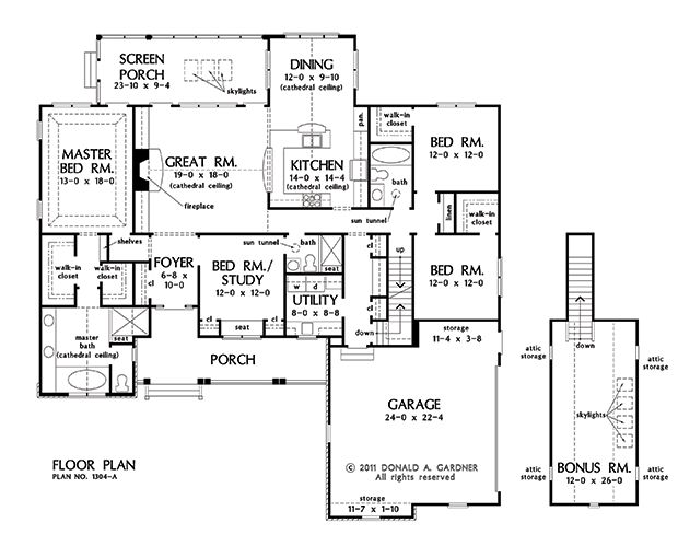 The trinity house plan images see photos of don gardner for Don gardner floor plans