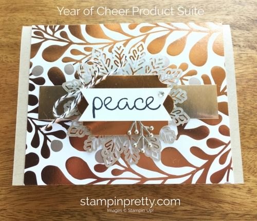 SNEAK PEEK from the Stampin' Up! Holiday catalog of the Year of Cheer Product Suite.  Read more https://stampinpretty.com/2017/07/stampin-holiday-catalog-sneak-peeks.html