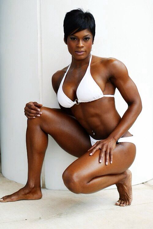 Scitechfitness Yes  Fit Black Women, Muscular Women -2453