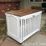 http://www.mylove2create.com/2016/02/turn-old-crib-into-awesome-dog-crate.html