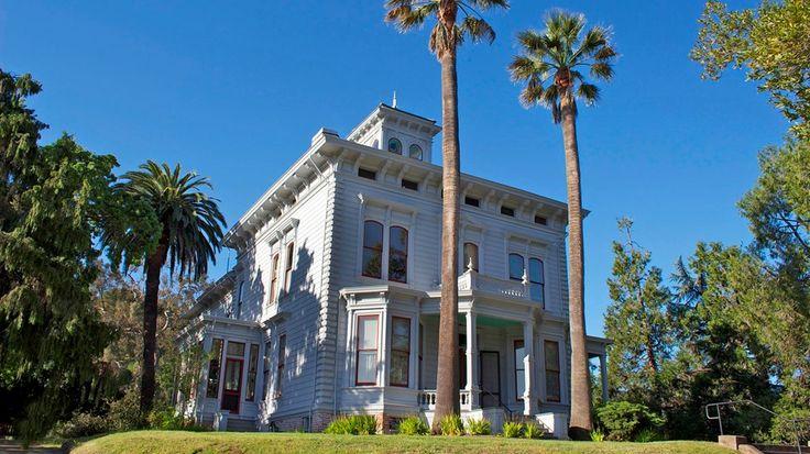 John Muir home in Martinez, California. John Muir National Historic Site California