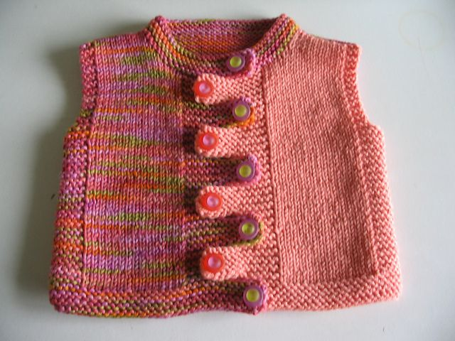 Ravelry: Project Gallery for Quick-Knit Vest pattern by Doreen L. Marquart