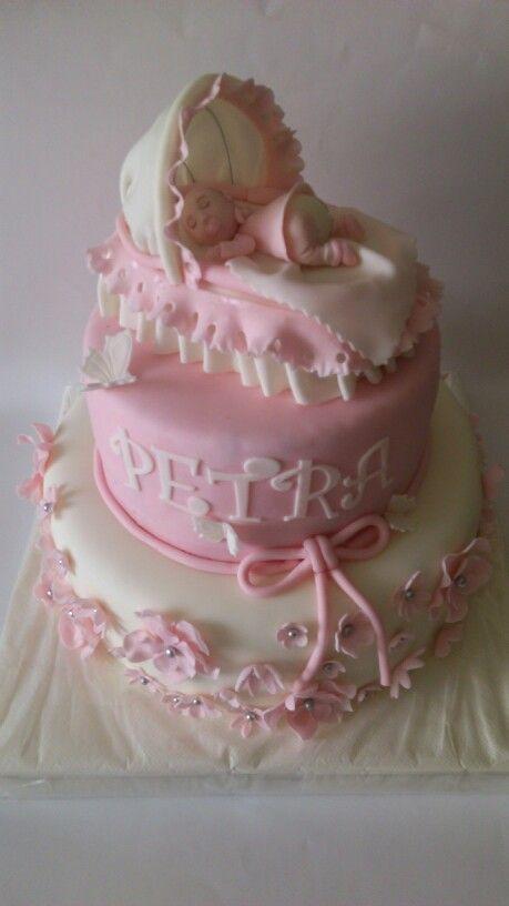 Chirstening cake for girl!