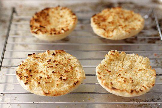 DYI English Muffins