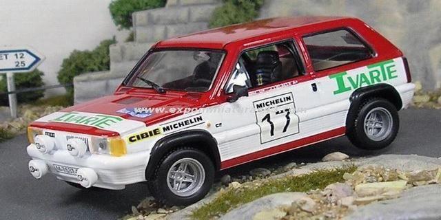 Rally de Talavera 1982 Seat Panda 45 Gr. 2 Sainz/Lacalle 1/43