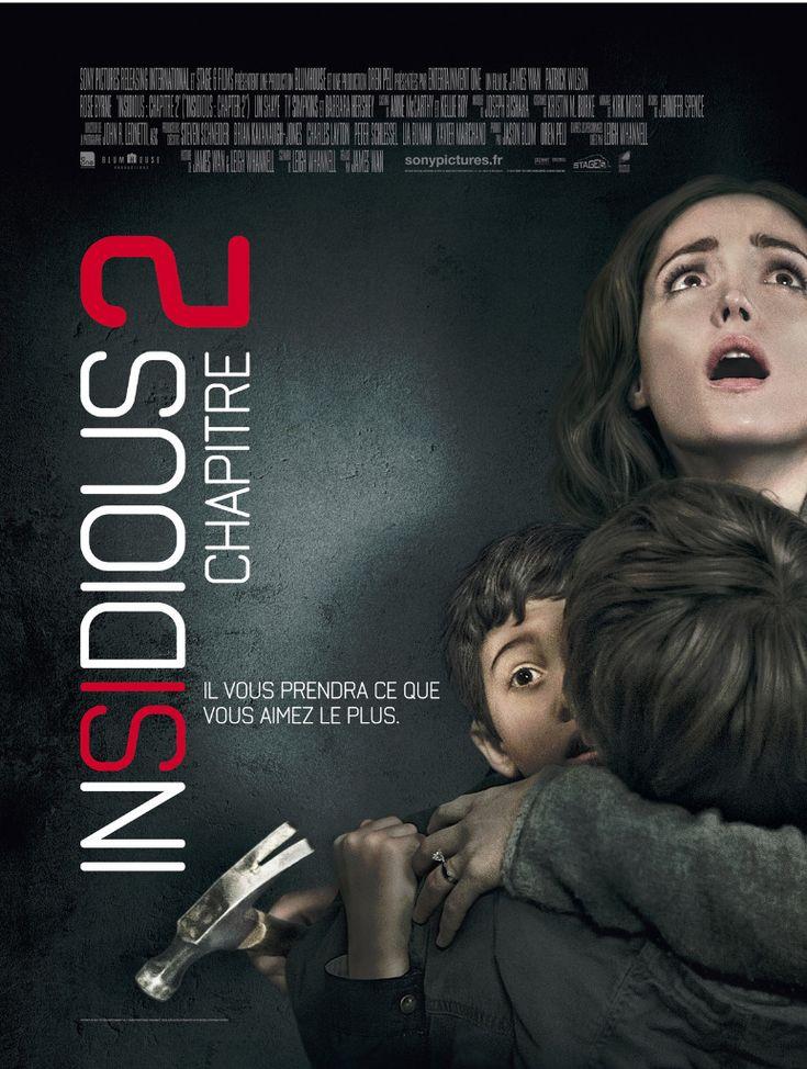 Insidious : Chapitre 2 est un film de James Wan avec Patrick Wilson, Rose Byrne. Synopsis : Après tout ce qu'elle a affronté, la famille Lambert s'efforce de reprendre une vie normale, mais le monde des esprits