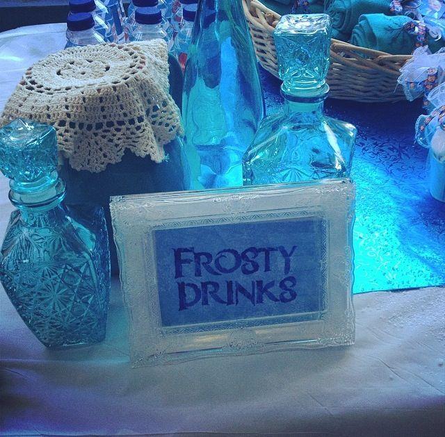 Frosty drinks bar