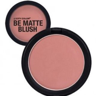 City Color Be Matte Blush in Papaya.