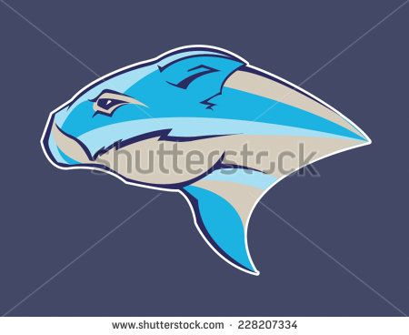 Wombat / Rodent Sports Fantasy League Logo - stock vector