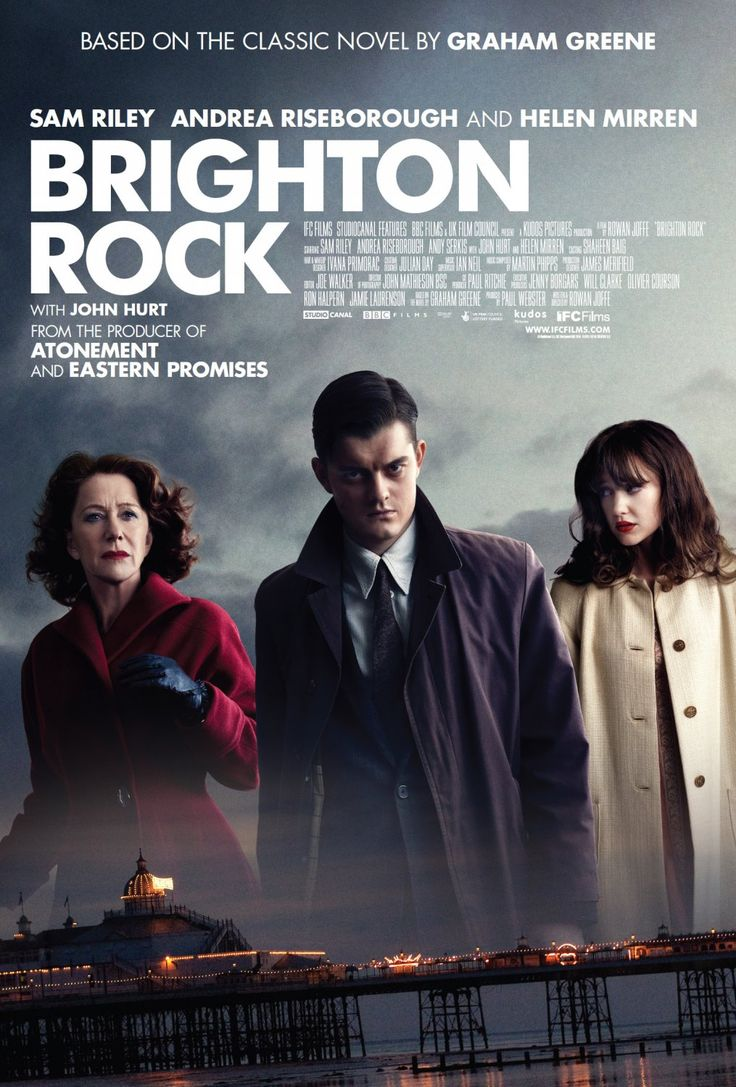 32 best brighton rock images on Pinterest | Brighton rock, Cinema ...