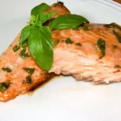 Anne's Fabulous Grilled Salmon