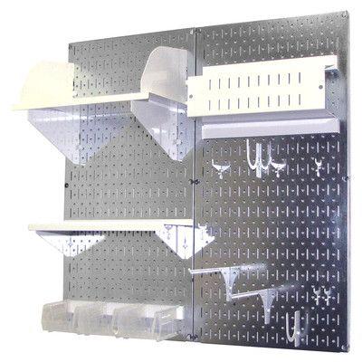 Wall Control Pegboard Hobby Craft Pegboard Organizer Storage Kit | Wayfair