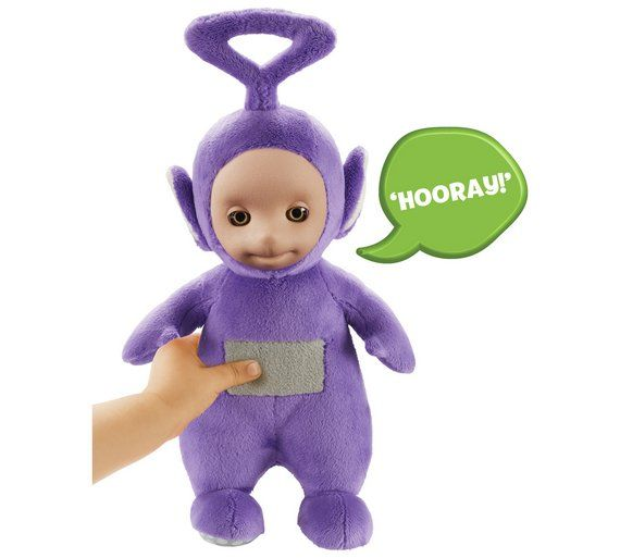 Buy Teletubbies Talking Tinky Winky Soft Toy at Argos.co.uk, visit Argos.co.uk to shop online for Soft toys, Baby and pre-school toys, Toys