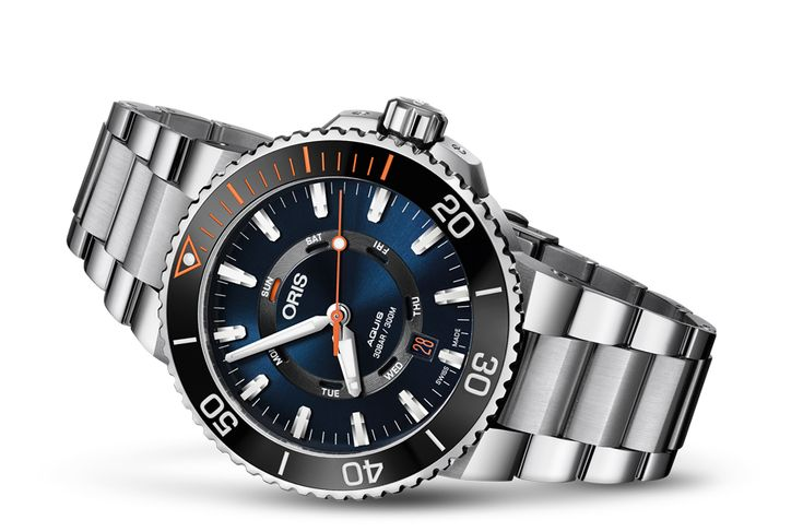 01 735 7734 4185-Set MB - Oris Staghorn Restoration Limited Edition - Oris Aquis - Tauchen - Kollektion - Oris - Rein mechanische Schweizer Uhren.