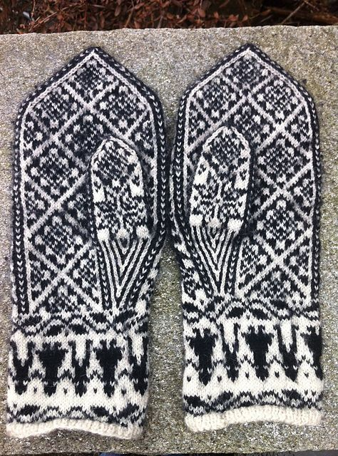 Selbuvotter Selbu mittens