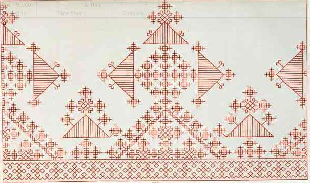 Kasuti Embroidery Tutorial: The Similarity of Russian Embroidery to Kasuti