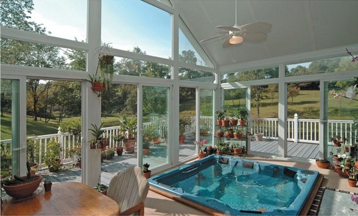 123 best Sun room. Spas. images on Pinterest | Arquitetura ...