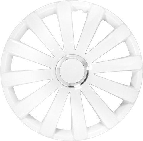 ASD TECH PP 5086W Pack de 4 Enjoliveurs Design Spyder 16» Blanc/Anneau Chrome: JEU DE 4 ENJOLIVEURS SPYDER 16 pouces BLANC Cet article ASD…