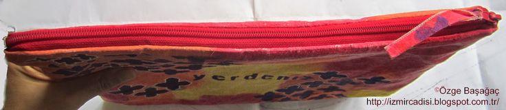 earthsea fabric handmade painted art bag/ yerdeniz el yapımı boyalı kumaş sanat çanta