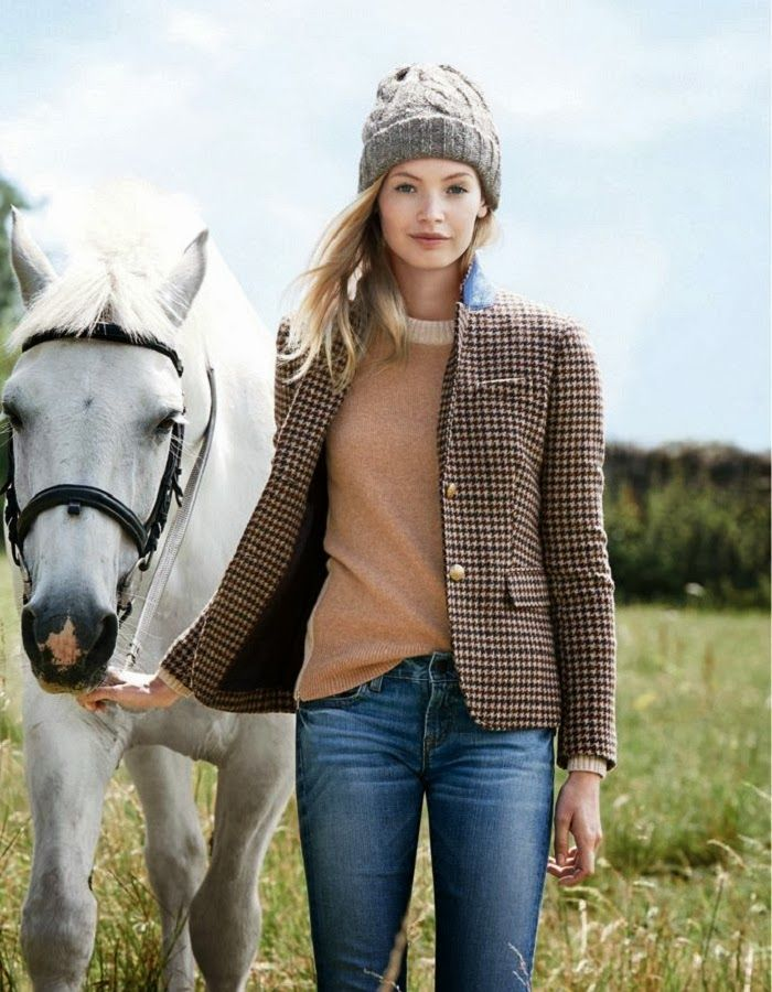 CHIC COASTAL LIVING: Country Escape with J.Crew