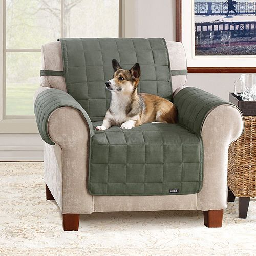Awesome Sure Fit Waterproof Chair Slipcover