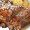 Receta de Costilla de ternera asada con patatas confitadas - Karlos Arguiñano