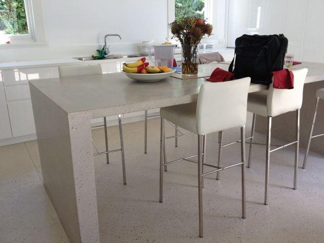 Polished concrete benchtops Sydney