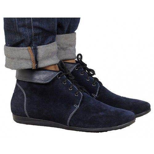 Ботинки демисезонные замш В-Vanda20