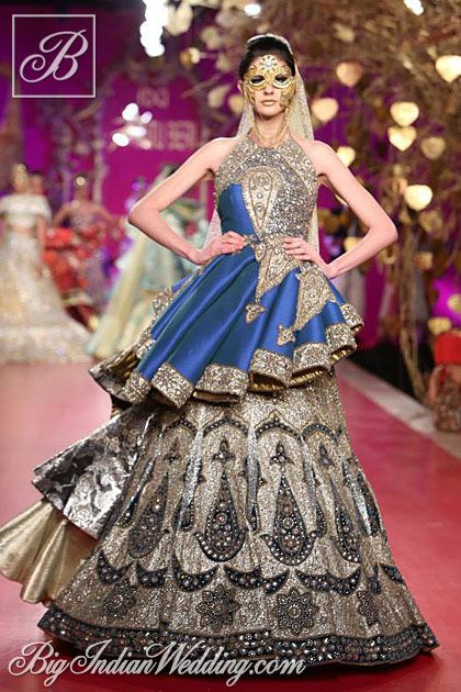Ritu Beri bridal collection - if i were getting married this year...this would definitely be one of my wedding outfits. Love it!!