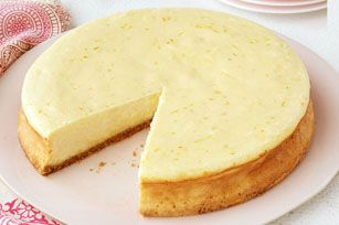 Triple-Citrus Cheesecake recipe - Once you taste how good lemon, lime and orange make this creamy Triple-Citrus Cheesecake, you'll never go back to a single or double version again!