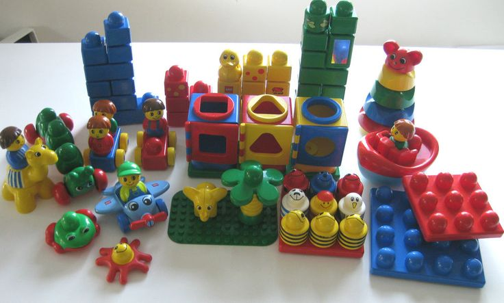 Bag of Mixed Lego Primo Duplo