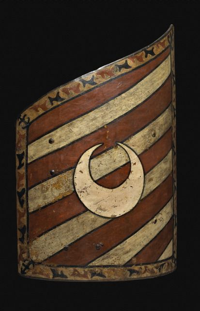 Hungarian shield with Crescent - front