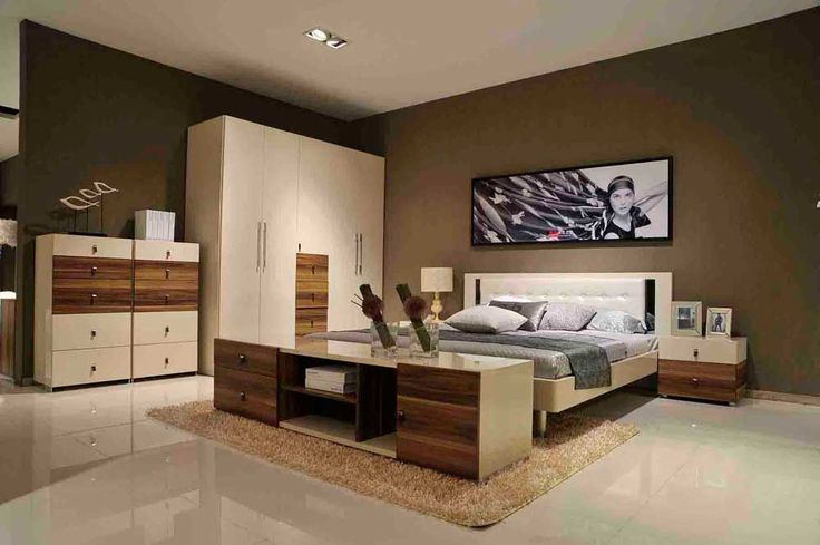 Bedroom Cupboard Design Ideas with modern bedroom equipped cozy white padded mattress king size bedding and knob handle pul