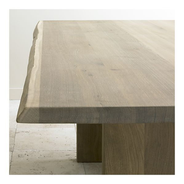 Dakota Table From Crate And Barrel Oak Dining Table Dining Table Solid Oak Dining Table