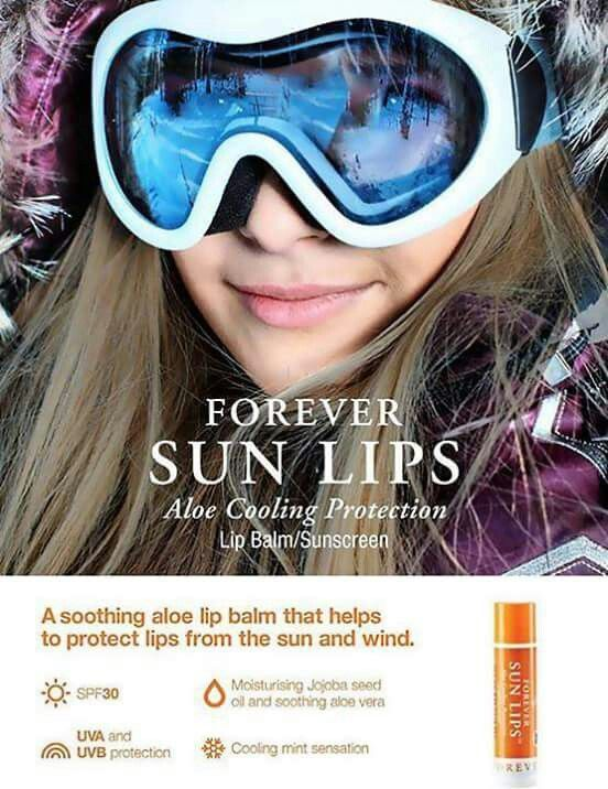 Protect the lips from the sun, wind, cold weather that makes lips feeling cracked, sore, dry and irritated. #Weather #Lips