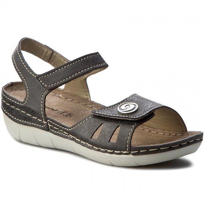 Sandale INBLU - CB127R15 Negru