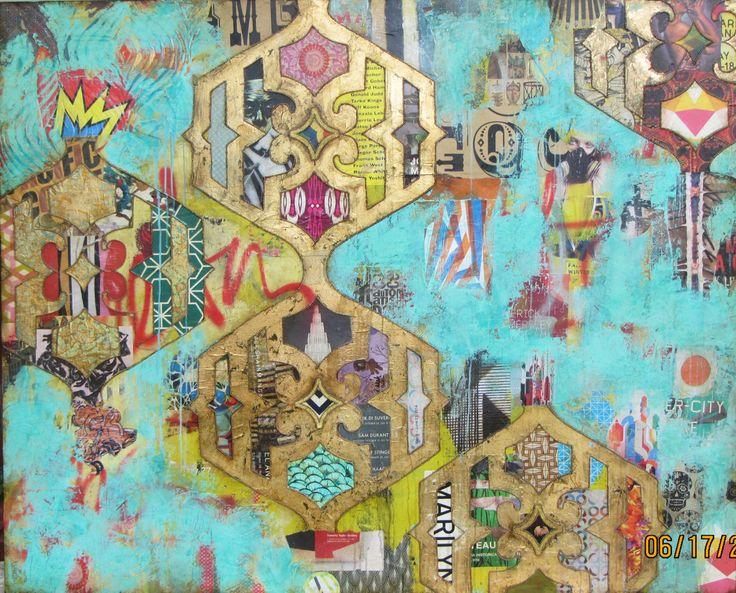 Mixed Media #6 (Jill Ricci artwork)