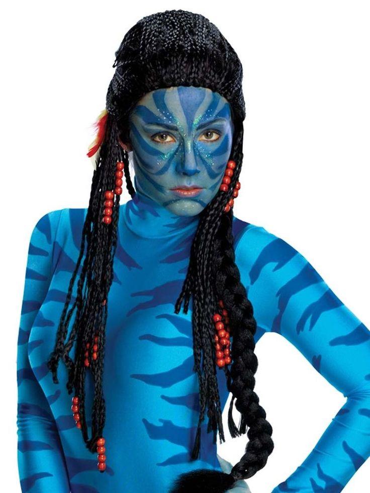 NEW Avatar Movie Neytiri Adult Women s Native Tribal Wig