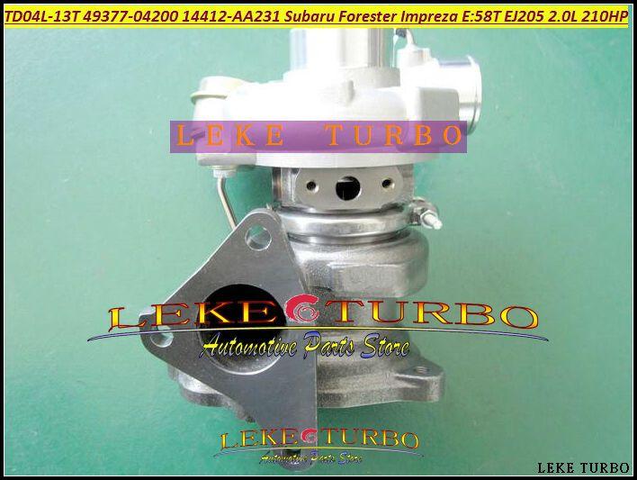 Free Ship TD04L 49377-04200 14412-AA231 Turbo Turbocharger For SUBARU Forester 1998-03 Impreza 1996 1998-03 58T EJ205 2.0L 211HP #Affiliate