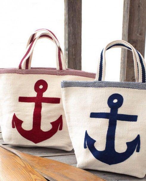 Tote Bag - CAPE COD BEACH BAG by VIDA VIDA b6v2w9