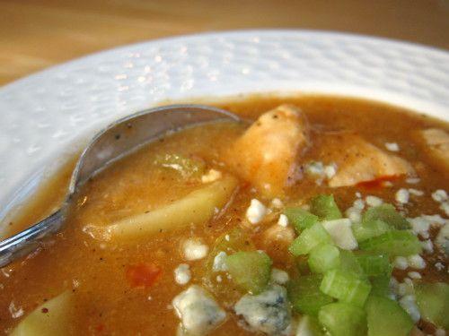 Buffalo Chicken Chowder | Soups | Pinterest