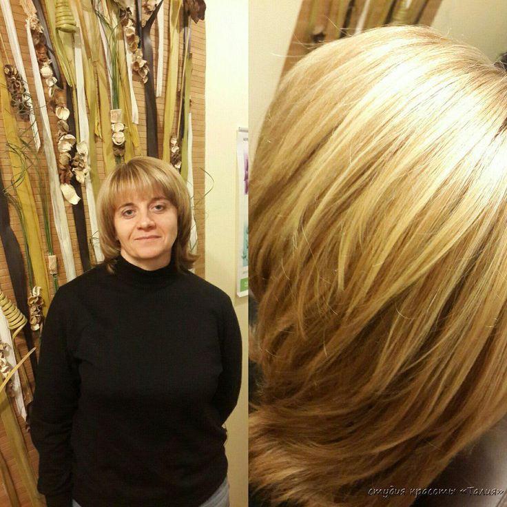 Колорирование, стрижка, коррекция и окрашивание бровей   Студия красоты Талия, салон красоты, парикмахерская