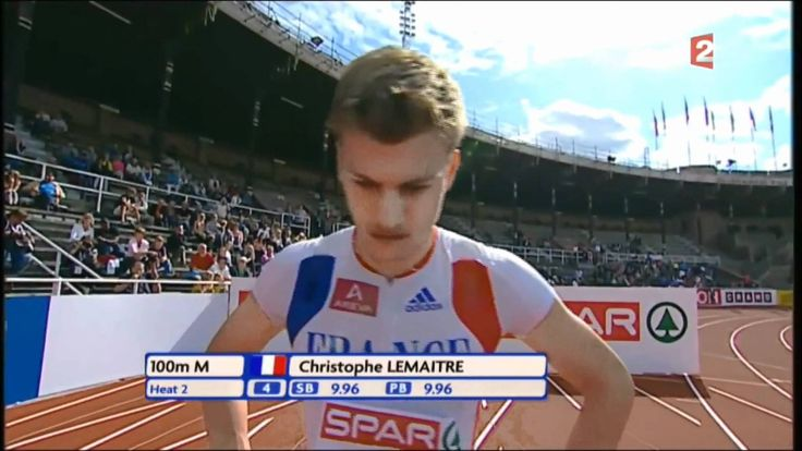Christophe Lemaitre - Fastest (White) Man On Earth  [HD]